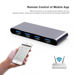Powered Wifi Usb Hub 3.0 Smart Usb Splitter Remote Dockingstation Manufacturer